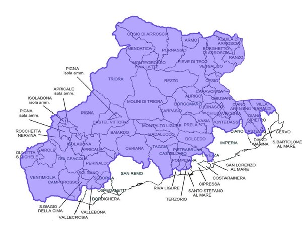 mappa-comuni-gal-riviera-dei-fiori